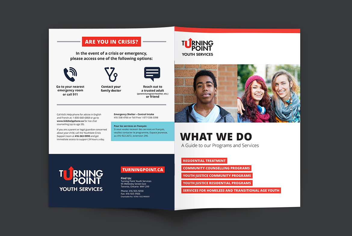 Turning Point Youth Services - Annual Report - Cover Spreads