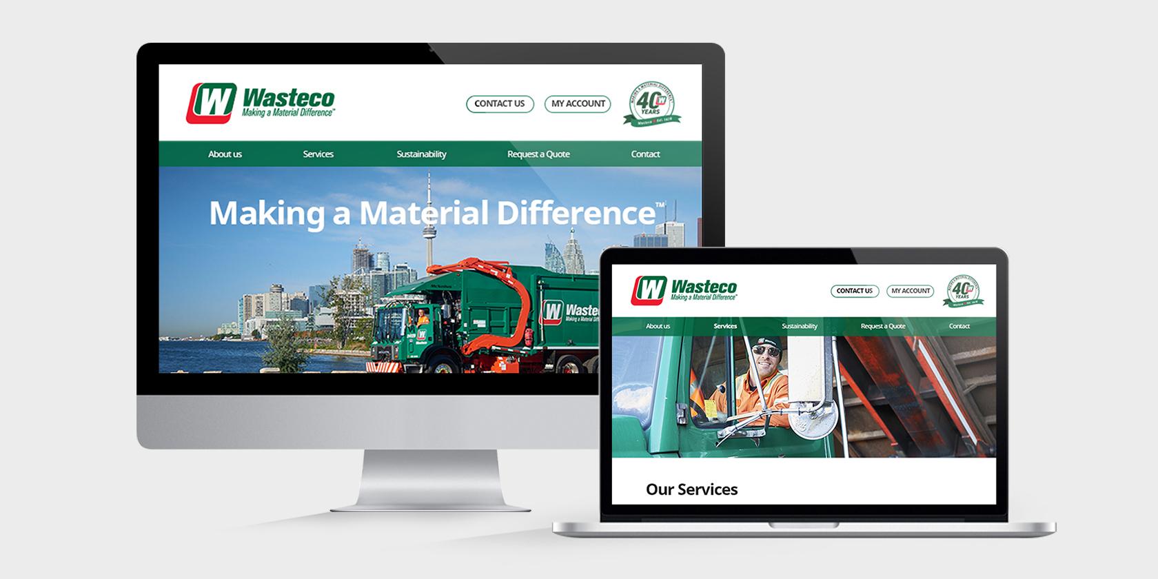 Wasteco – Website
