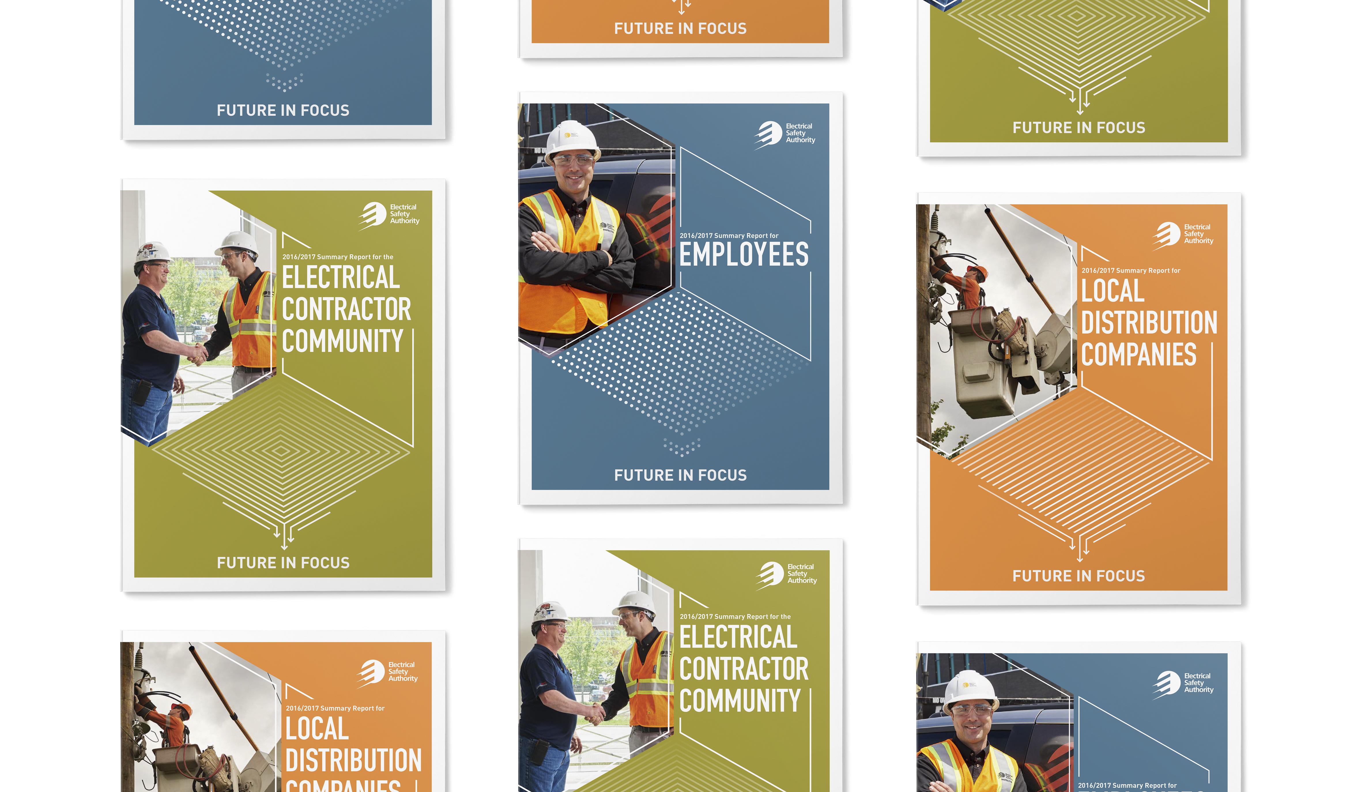 ESA - 2017 Summary reports - Cover Design