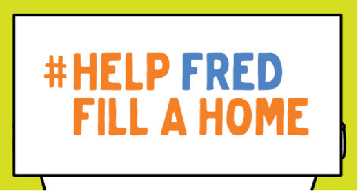 #HelpFredFillAHome - Digital Campaign - Animation Design - Couch