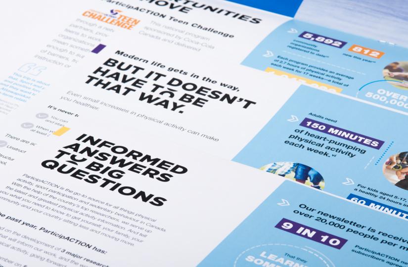 ParticipACTION - Impact Report - Close up