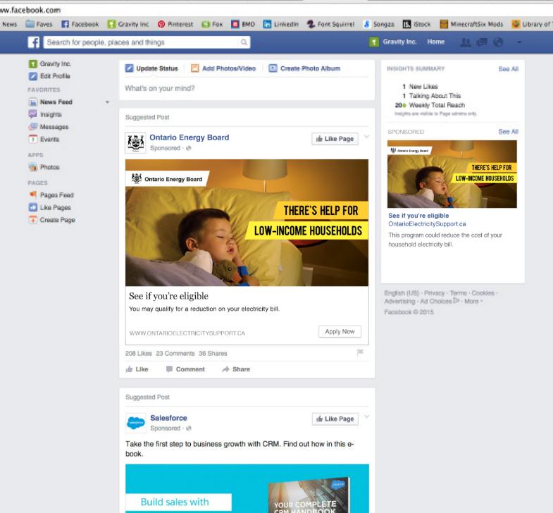 OEB-photo-boy-cropOntario Electricity Board - OESP program - Social Media Campaign