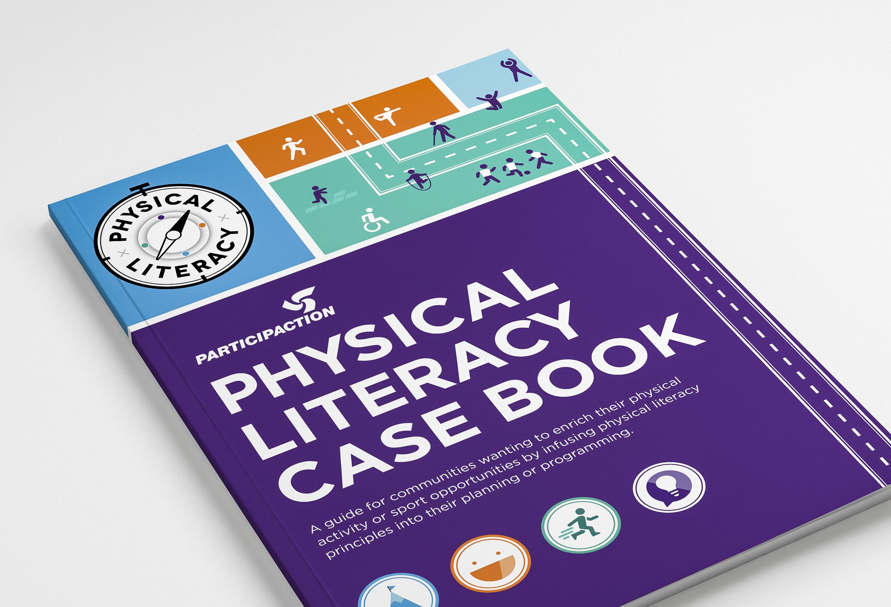 ParticipACTION - Physical Literacy Case Book - Cover Design