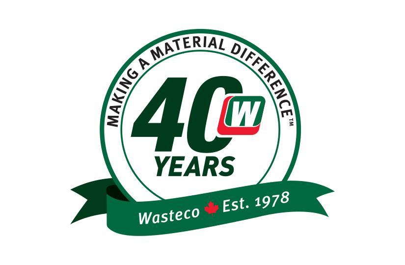 Wasteco – 40th Logo Design