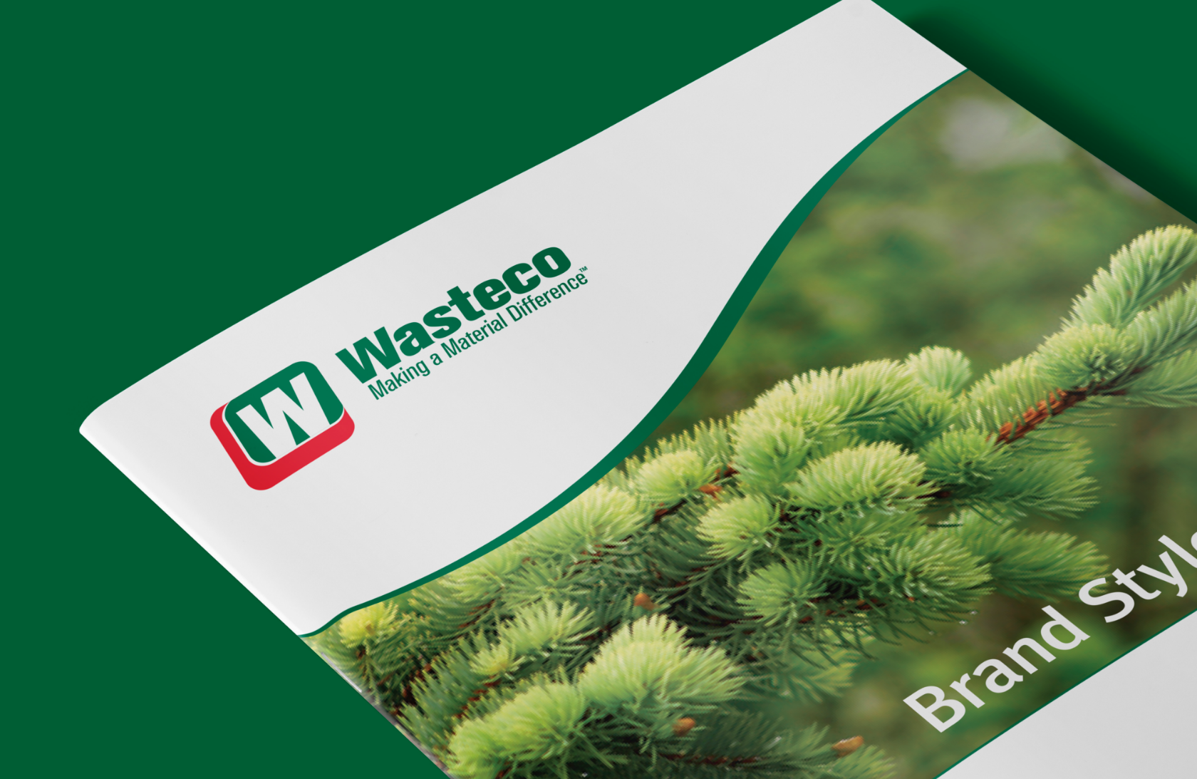 Wasteco - Brand Guidelines Cover