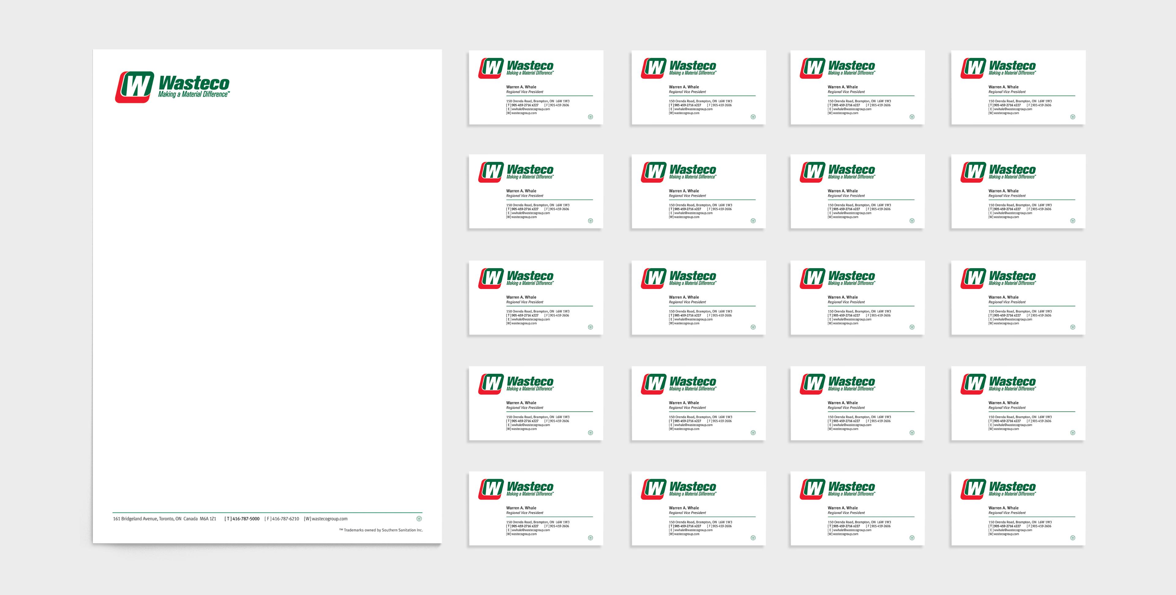 Watseco - Stationery - Letterhead - Business Card
